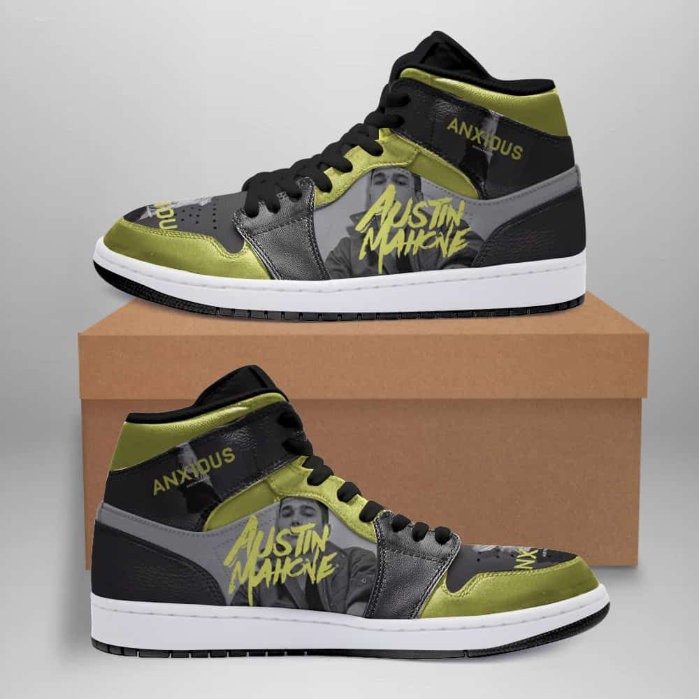Austin Mahone Custom Air Jordan Shoes in 2020 | Air ...