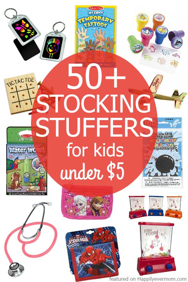50+ Fun Stocking Stuffers Kids Will LOVE! - Happily Ever Mom