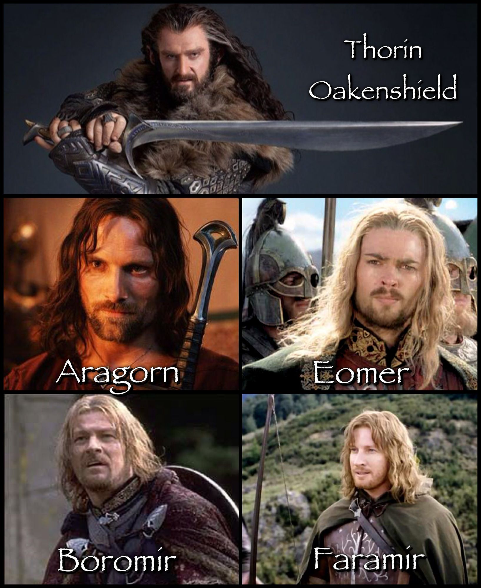 Warriors of middle earth