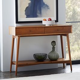 Industrial Storage Skinny Console Furniture I Would Like