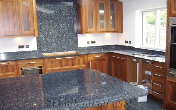 Blue Pearl Granite Kitchen Top | Kitchen | Pinterest | Granite ...