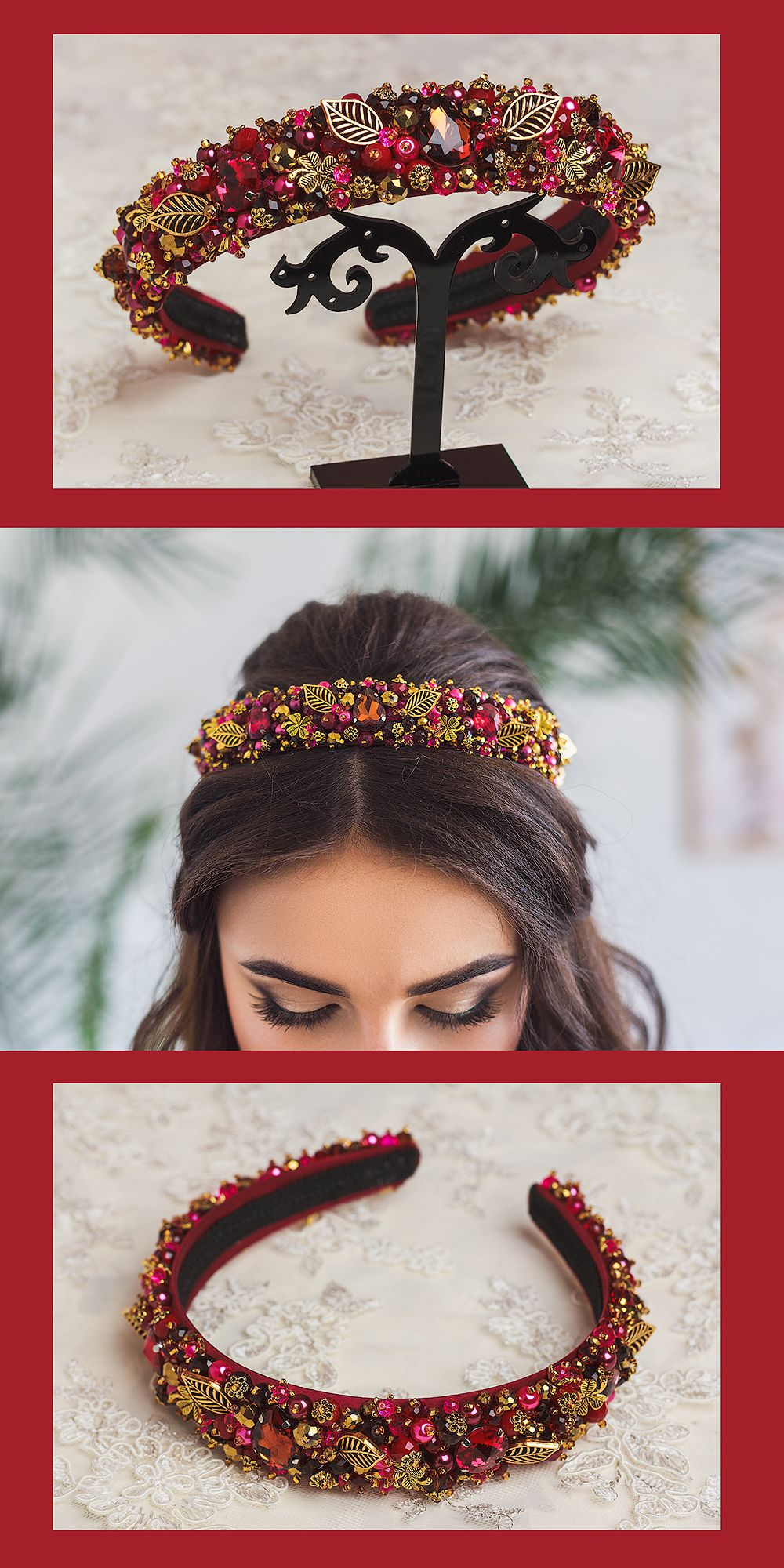 Uk Seller FLOWER GIRL//BRIDAL GIRLS Hairband Crystal Pearl Tiara Prom Headband