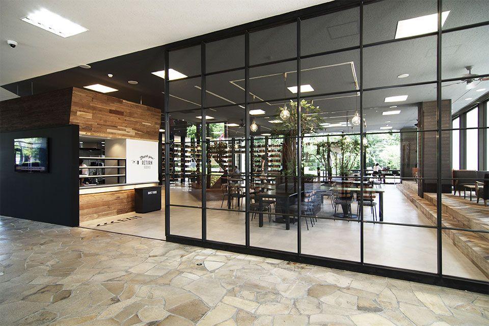 Eight Design 愛知県日進市の名古屋商科大学内にオープンした学食カフェ Sora Cafe 名古屋商科大学 の店舗デザイン 店舗デザイン デザイン インテリア スタイリッシュ