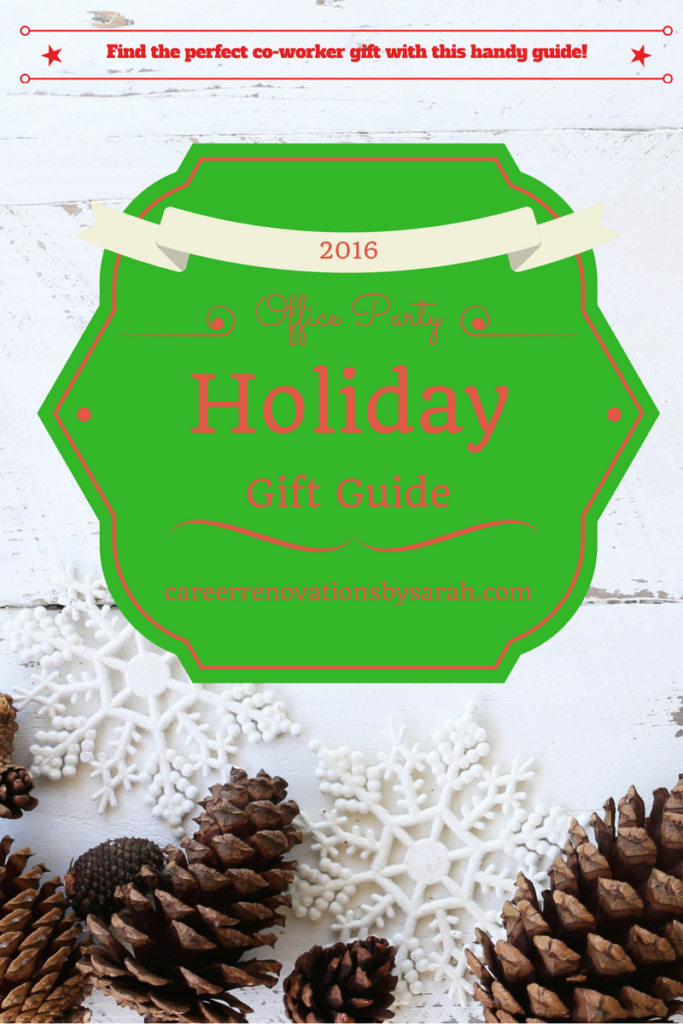 2016 Office Party Gift Guide - Find the perfect gift for your hard to shop for co-workers.