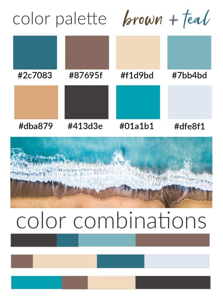 Teal Color Palette House Color Palettes Bedroom Colour Palette