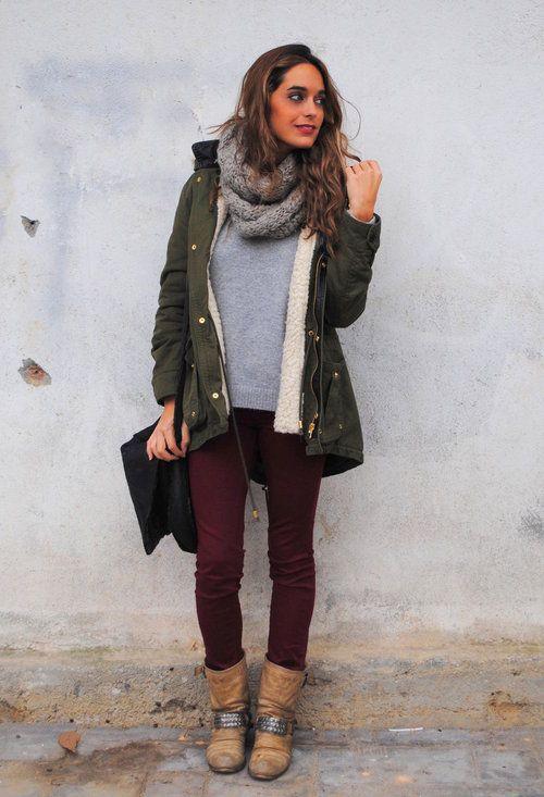 Abrigo Pinterest Outfit Style My Militar Pants Verde Olive rIx07r