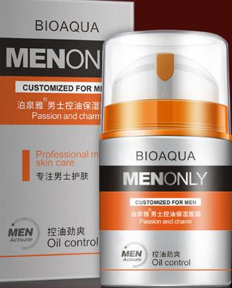 Bioaqua Skin Care Men Deep Moisturizing Oil Control Face Cream Hydrating Anti Aging Anti Wrinkle Whi Oil Control Products Skin Care Damage Hair Care