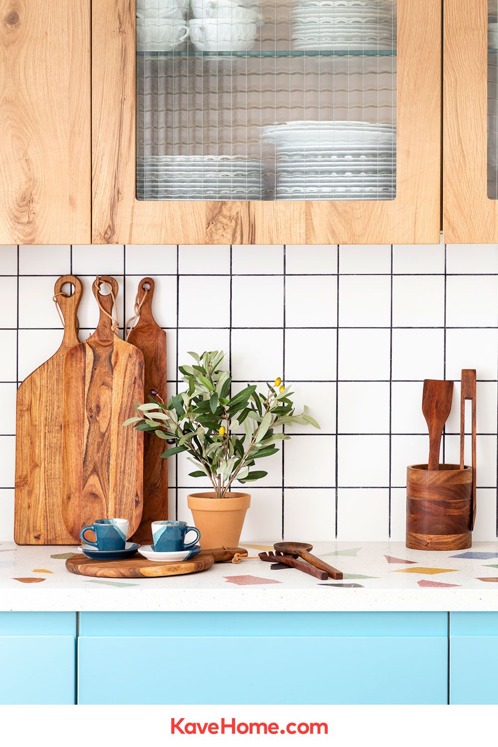 Yanila kitchen utensil holder  Kave Home® en 18  Ustensile