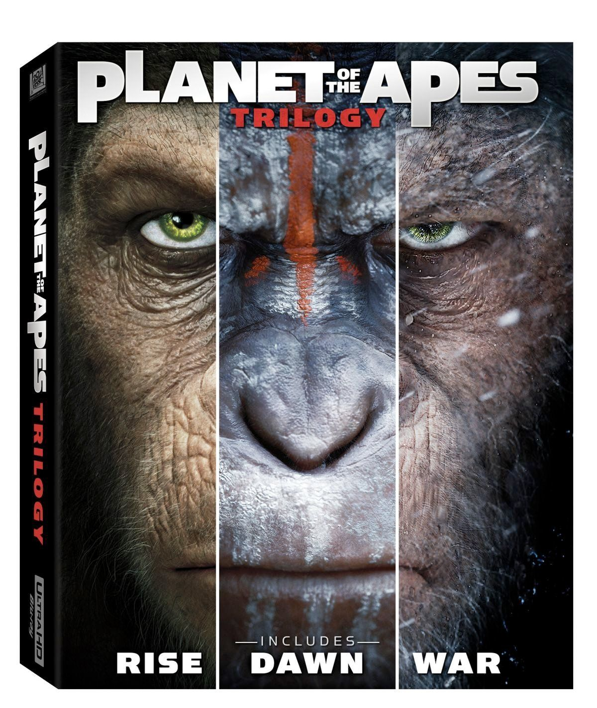 War For The Planet Of The Apes Hits Blu Ray Dvd Digital Download In October Planet Of The Apes Dawn Of The Planet Apes