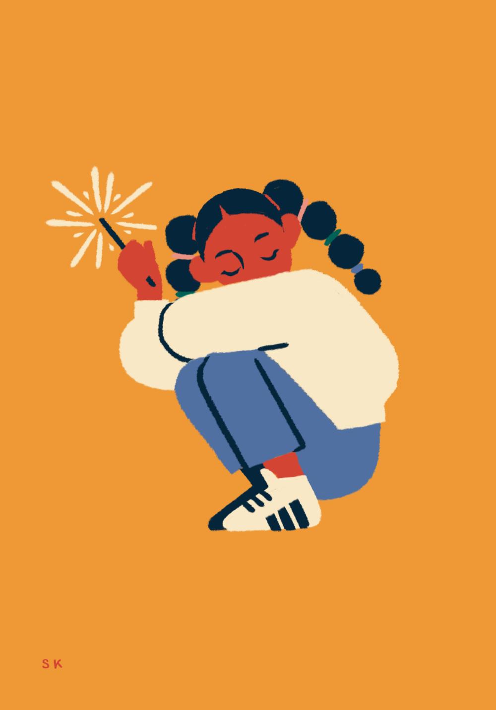 Inktober 2018 — Sabrena Khadija in 2020 Illustration