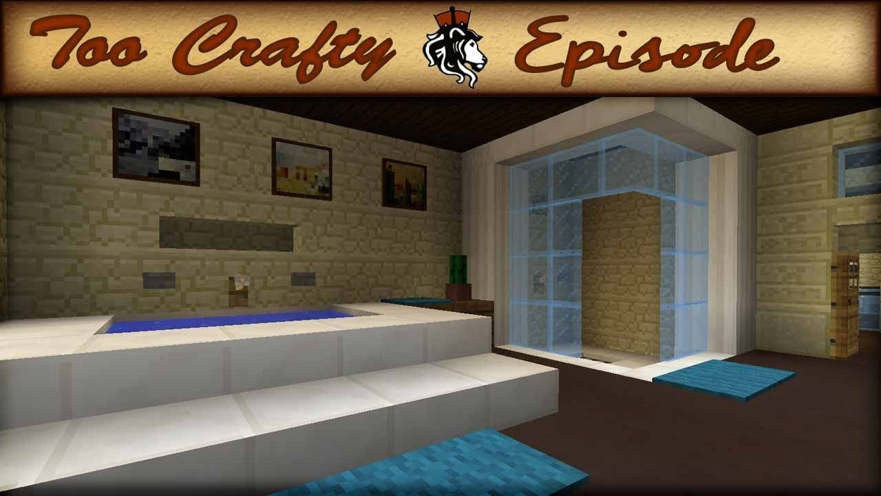 Bathroom Design Games Minecraft Bathroom Design Too Crafty  16  Minecraft  Pinterest
