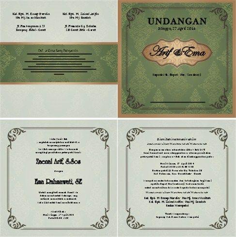 3000 Desain Undangan Perkawinan Perkawinan Pernikahan Khitanan Ultah Desain Grafis Terlengkap Dan T Desain Undangan Perkawinan Undangan Perkawinan Undangan