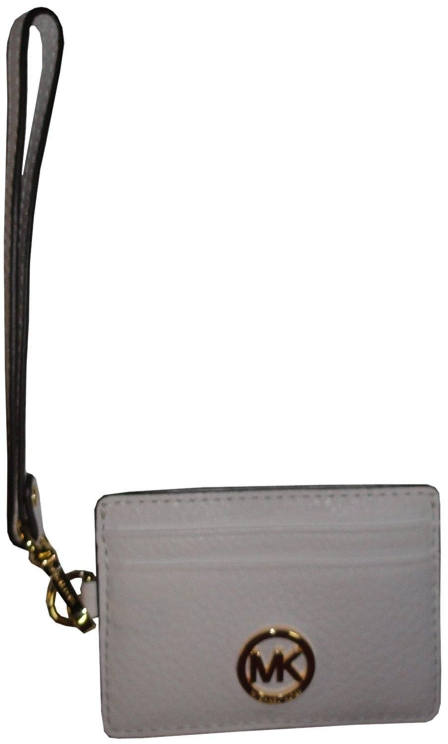 b7a3f2ff8f288c Free shipping and guaranteed authenticity on Michael Kors Fulton Metro Pass Case  ID Holder Leather Wristlet at Tradesy. Michael Kors Fulton Metro ...