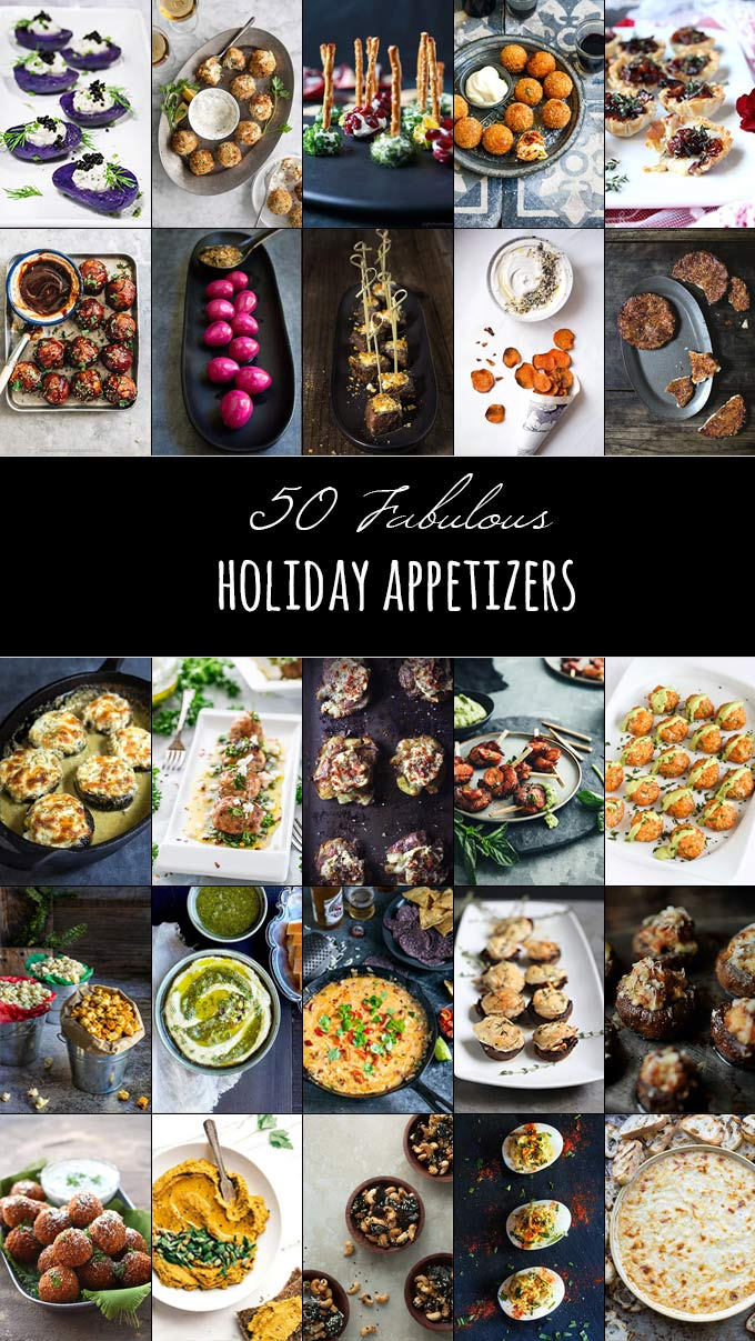 50 Fabulous Holiday Appetizers Holiday appetizers