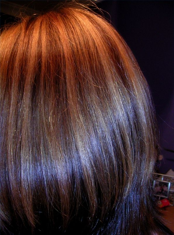 jamie warmanberg posted hair color ideas brown hair with auburn highlights revlons auburn hair color to his make up tips postboard via the juxtapost - Hair Color Highlights Styles