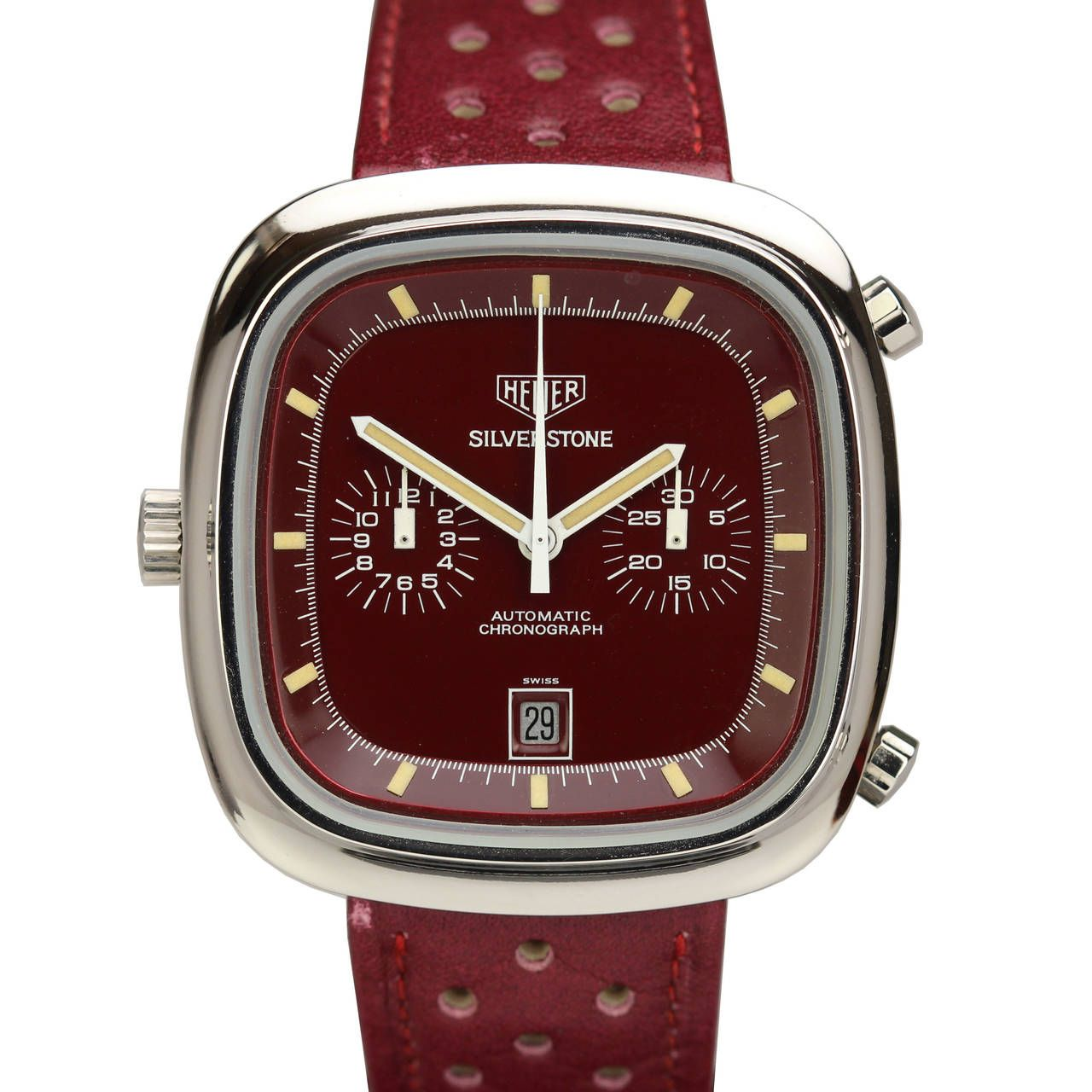 mens watches htm maroon sports men dial automatic reviews watch orient