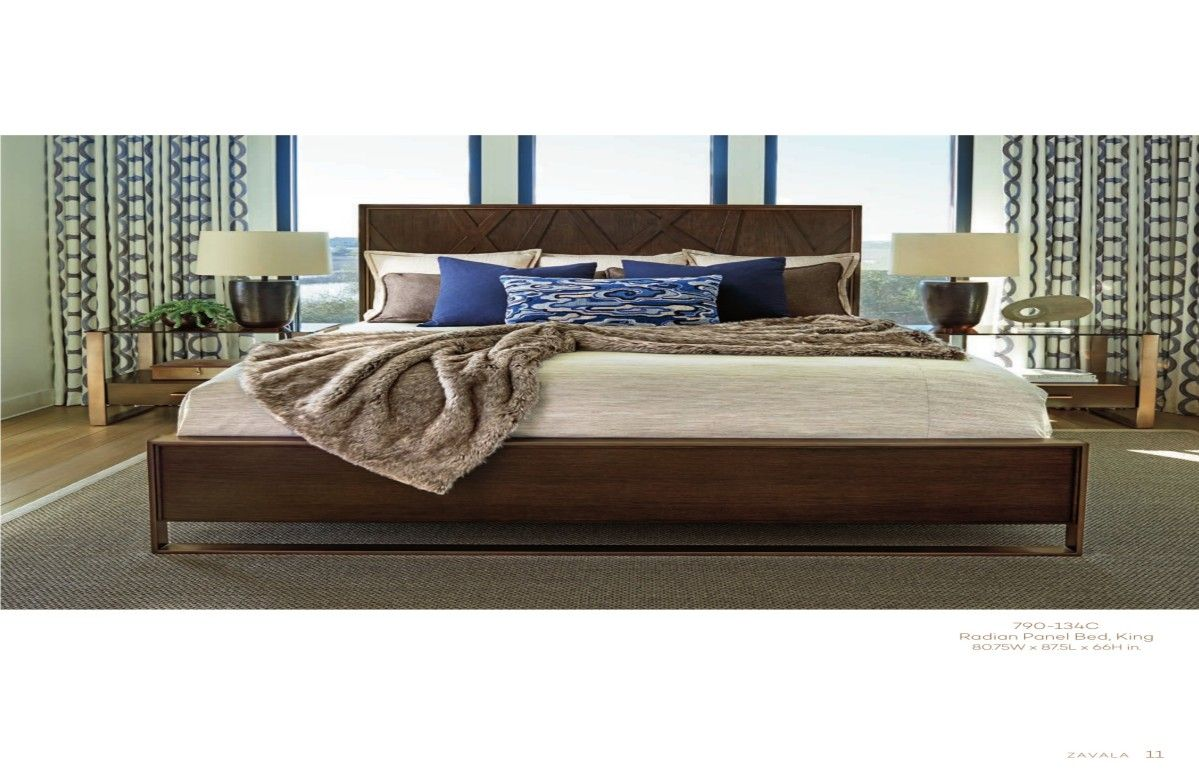 Home Brands Lexington home, Panel bed, Upscale furniture