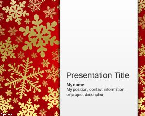 Snowflake Powerpoint Template Free Download Or Check Other