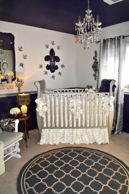 Princess Themed Baby Bedroom: Your Royal Highness: Prince And Princess Themed Nurseries