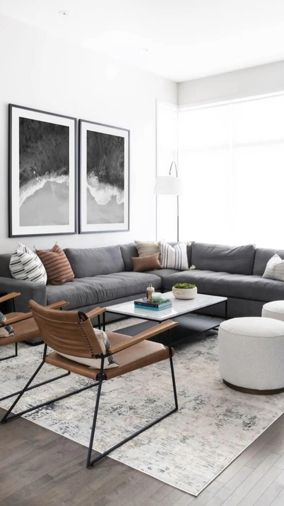 Our Modern and Minimal Living Room
