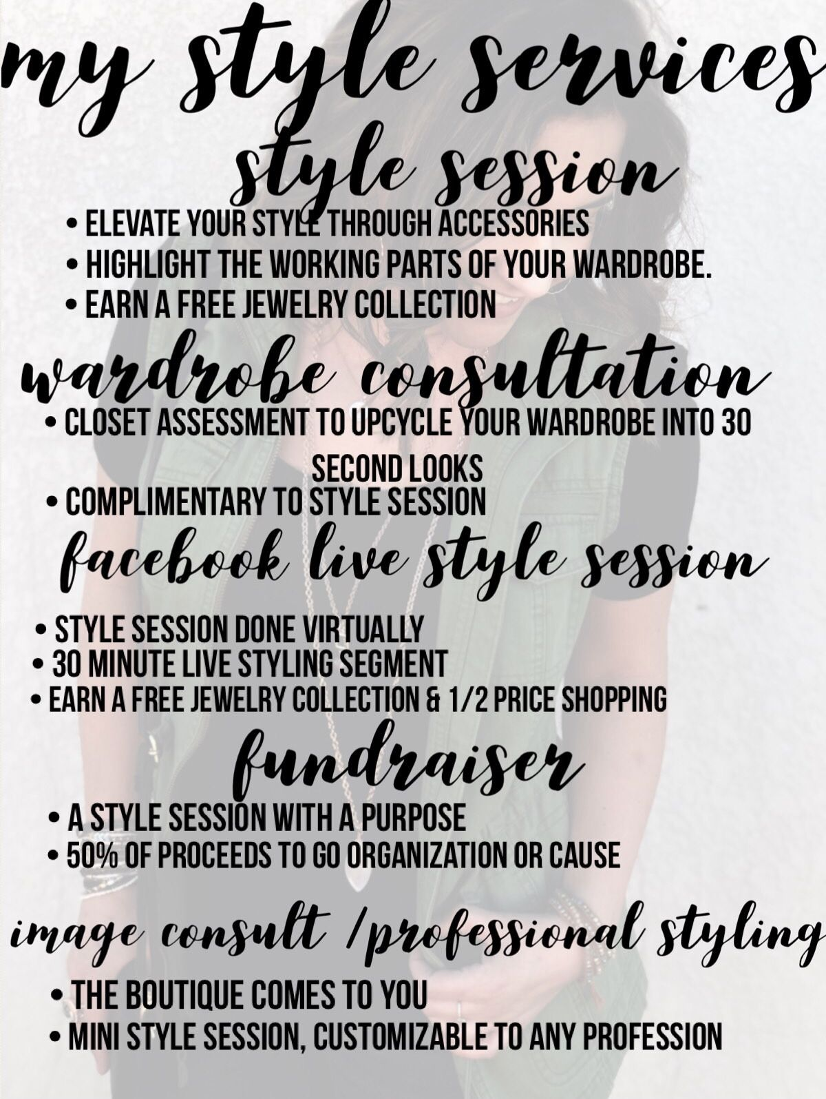 241a55c4897 Are you curious what I do  What is an accessory Stylist  I don t just sell  jewelry. Schedule a service today!