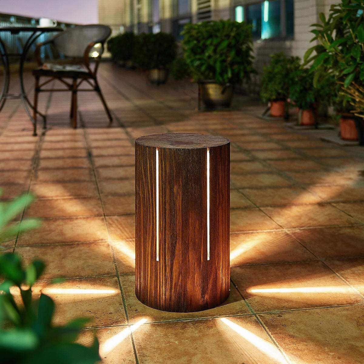 Moderne Terrassenlampen Von Lampenwelt Com Braun Led