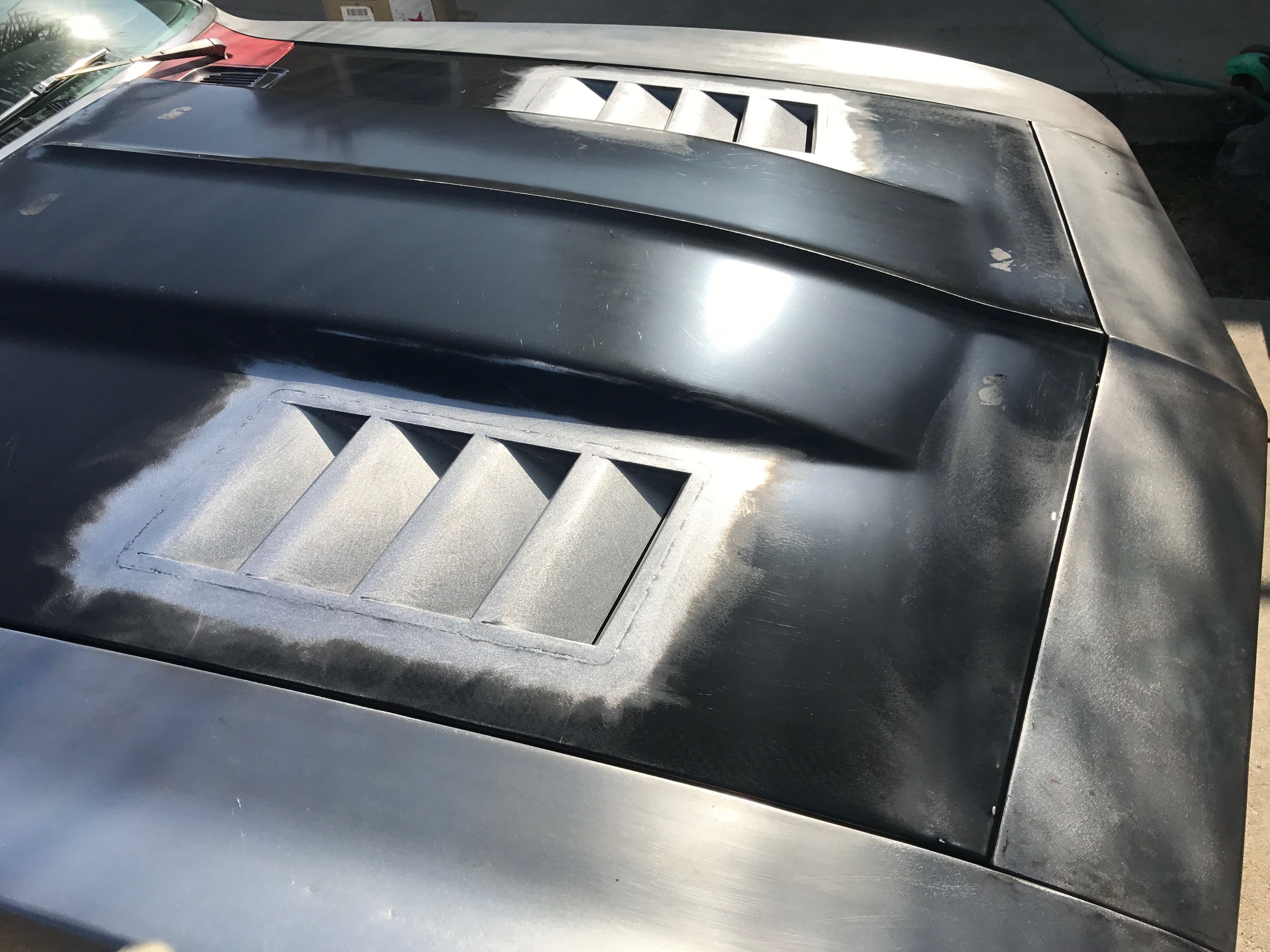 1969 Camaro Custom Hood Louvers Ig 1969camaroskunkworks Heat Extractors Universal Hood Louvers Lower Engine Bay T Custom Cars Camaro Custom Metal Fabrication