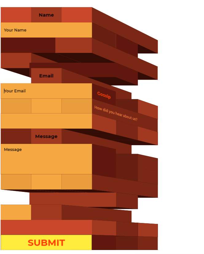 20 Beautiful Css Contact Forms Code Examples Onaircode Contact Form Css Simple Html