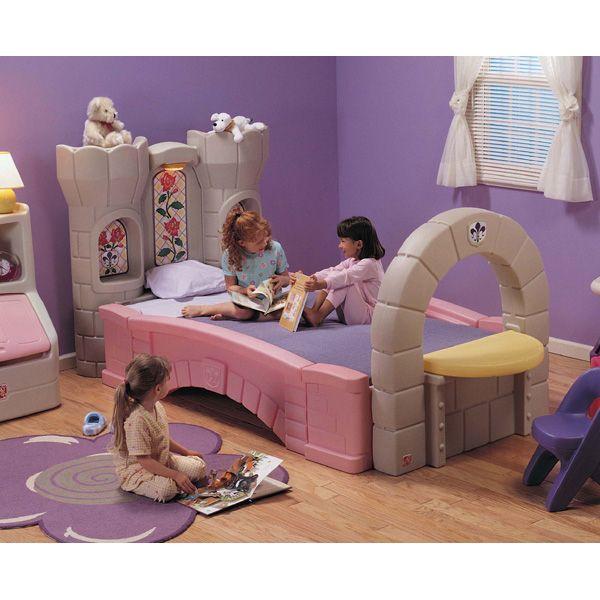 Letto a forma di castello step2 infanzia eurekakids kids room pinterest princess - Letto a forma di castello ...