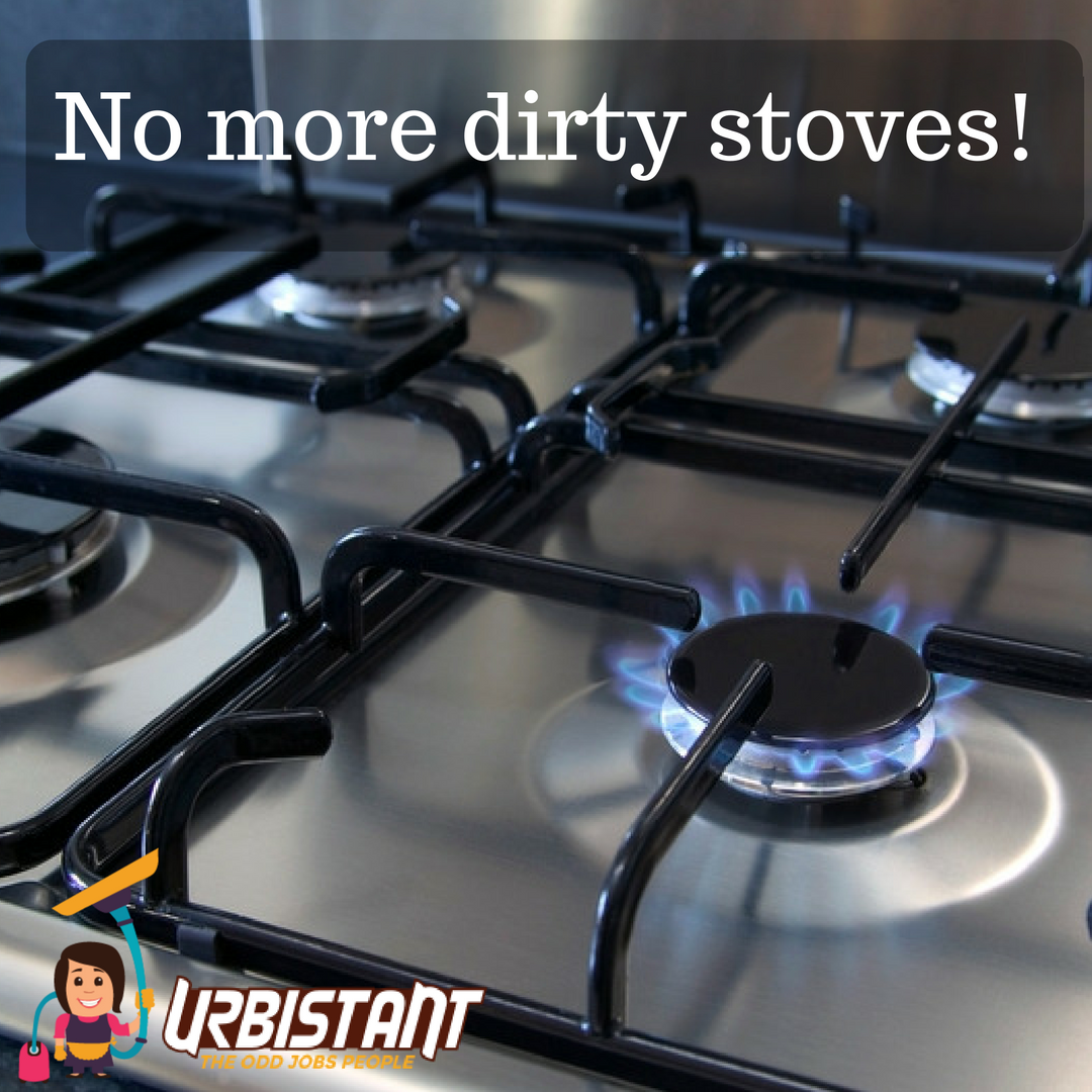 Get rid of dirty stoves! Soak stove grates in hot water and ...