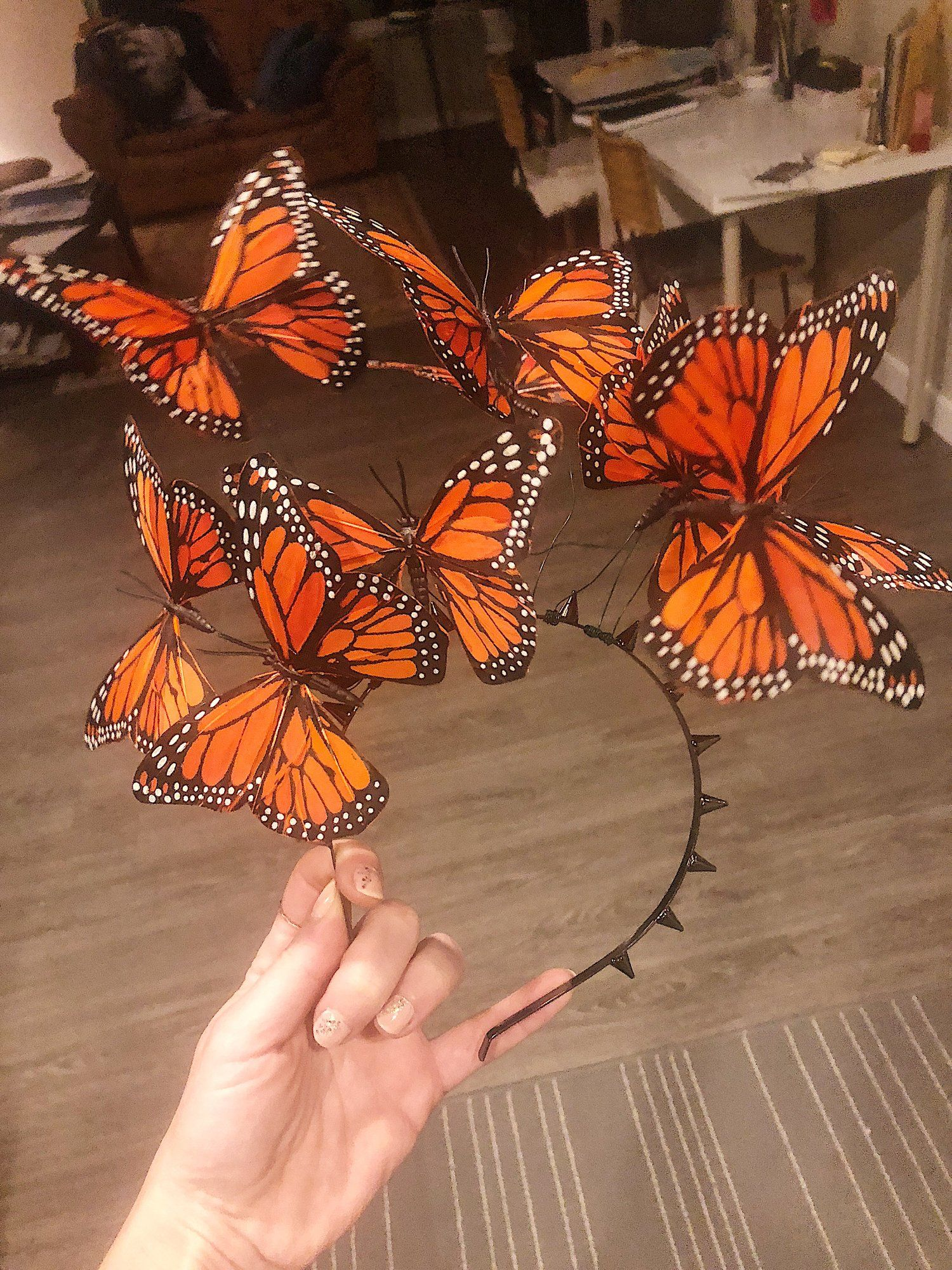 DIY Butterfly Fascinator Headband — Untouchable