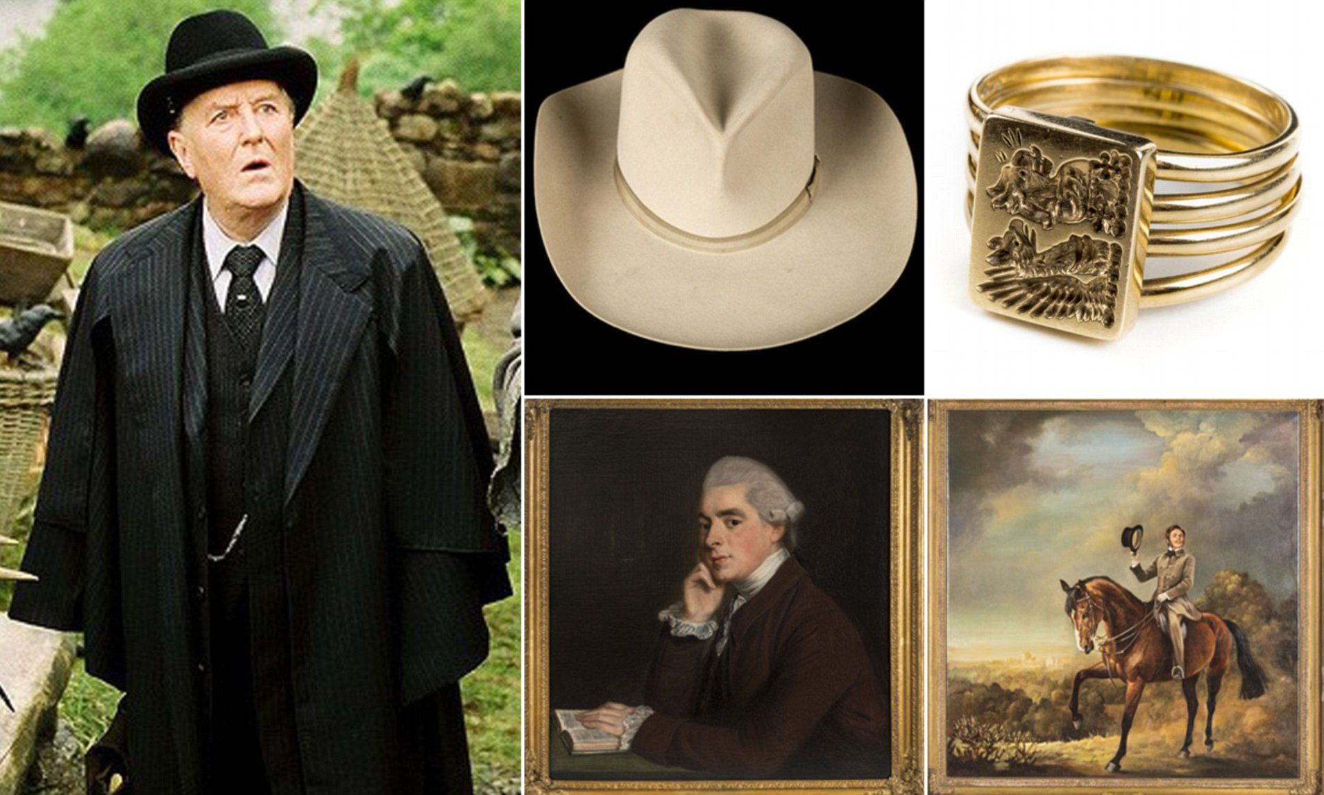 Robert Hardy S Estate Goes Up For Sale Robert Hardy Actors Hardy