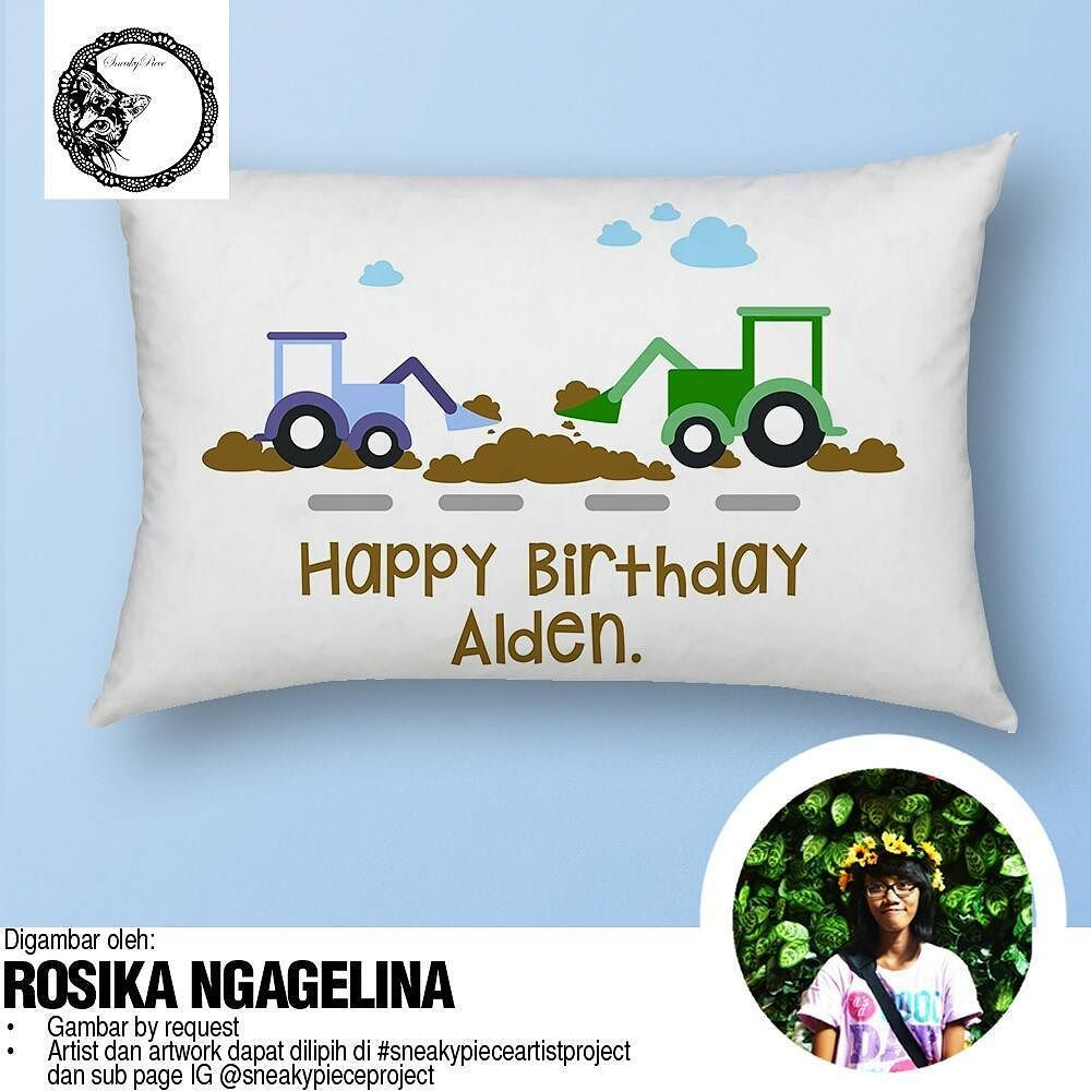 our new product Bantal 40x80 And as always design are request by you