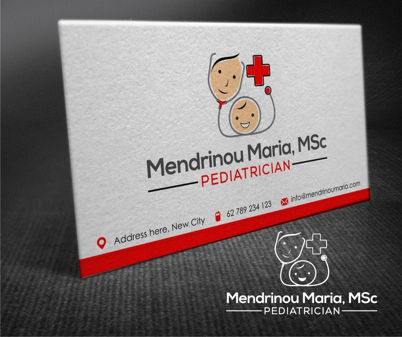 Create A Happy And Clever Logo For A New Pediatrician By Whitebrown99 Clever Logo Logo Branding Identity Office Cards