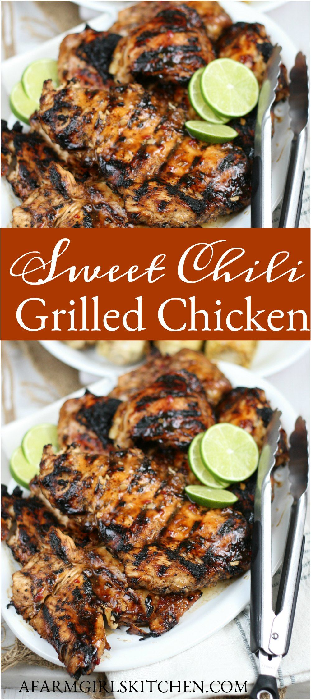 Ultimate Sweet Chili Grilled Chicken (easy chicken marinade)