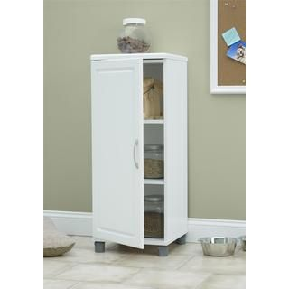 Altra SystemBuild White Kendall 16 inch Stackable Storage Cabinet ...