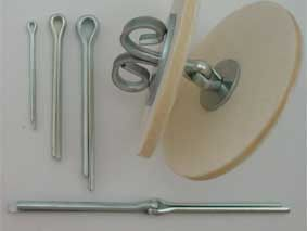 Rundkopfsplinte - Eisenwaren - ProBär - Alles was Sie benötigen um Teddybären selbst zu machen