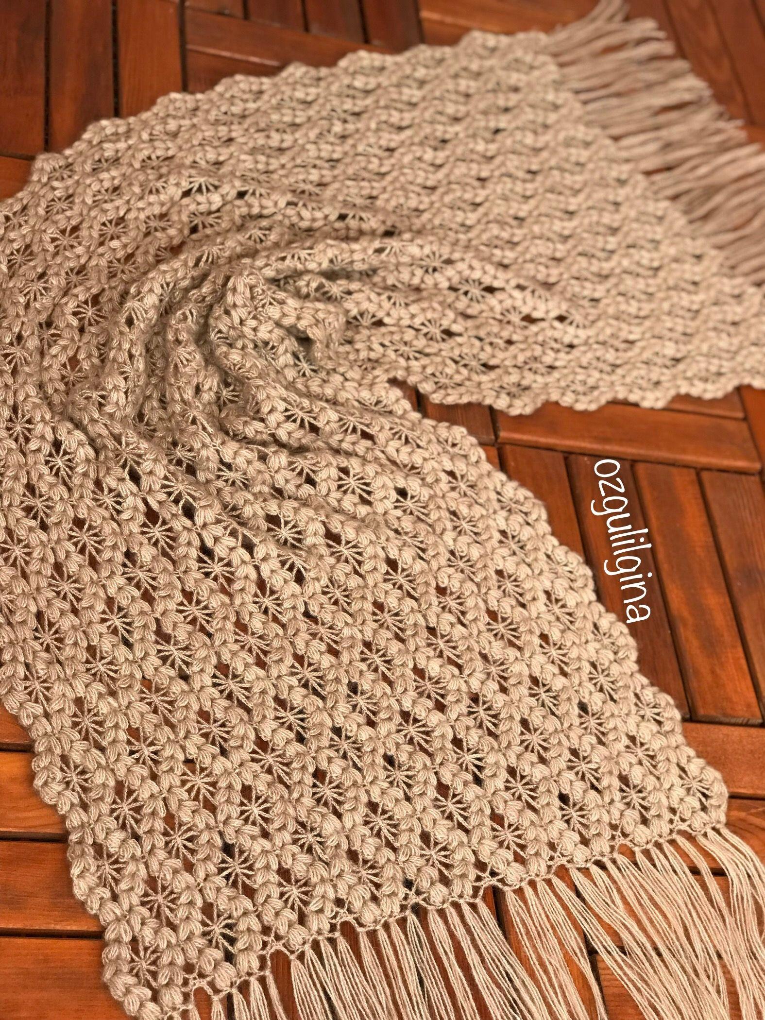 Orgumuseviyorum Hobi Elemegi Elemegigoznuru Crochet Crochetlove Knitting Knit Knittinglove Knittingyarn Shawl Inst Sal Tig Isleri Orgu Modelleri