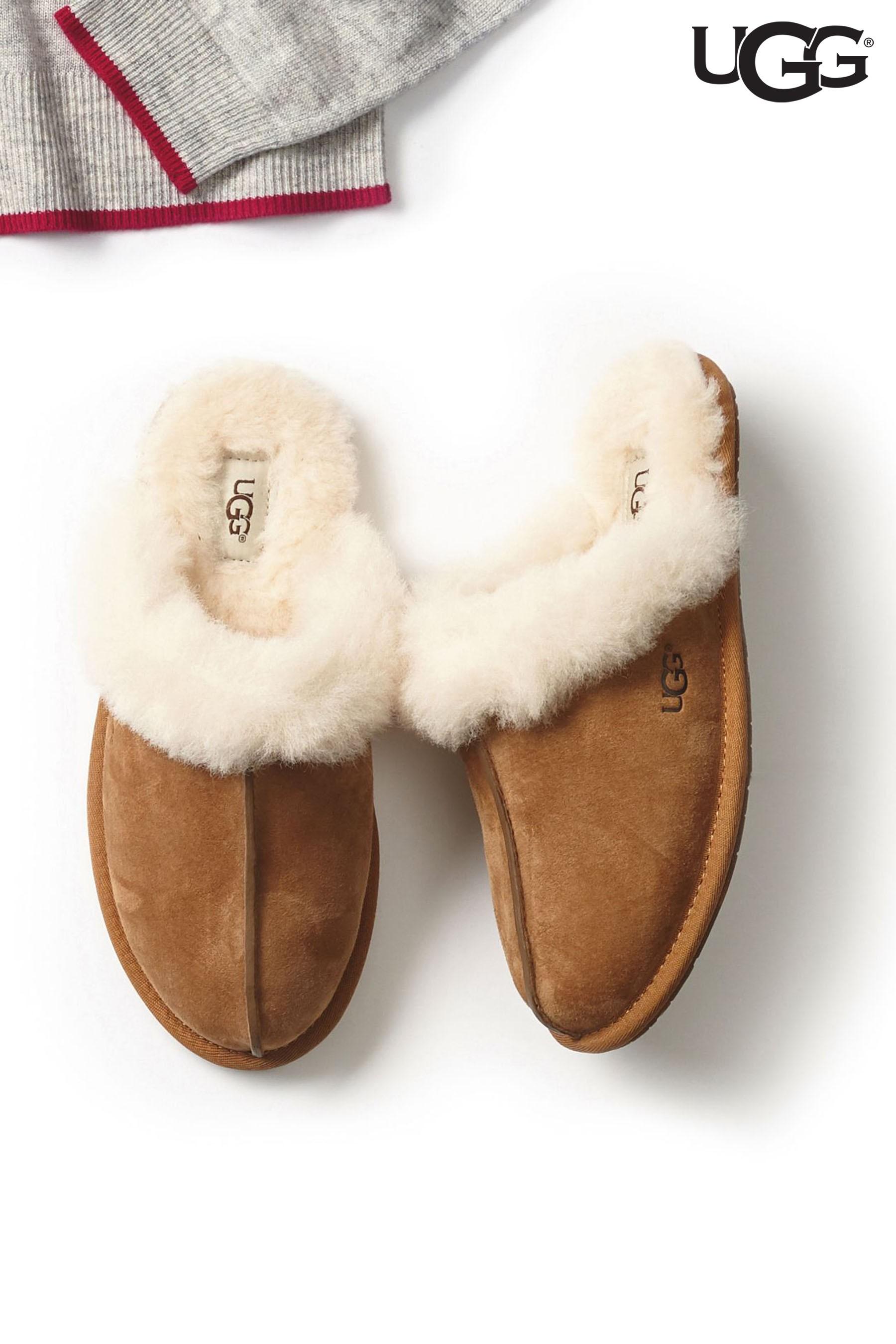 1da16c75b60 Womens UGG Chestnut Scuffette Slipper - Brown | Products | Chestnut ...