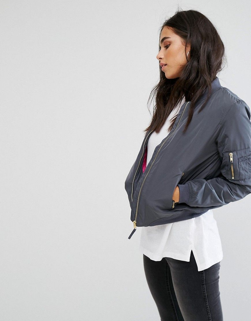 Buy It Now Noisy May Space Universe Bomber Jacket Navy Jacket By Noisy May Smooth Woven Fabric Baseball Bomber Jacket Women Bomber Jacket Clothes Design [ 1110 x 870 Pixel ]