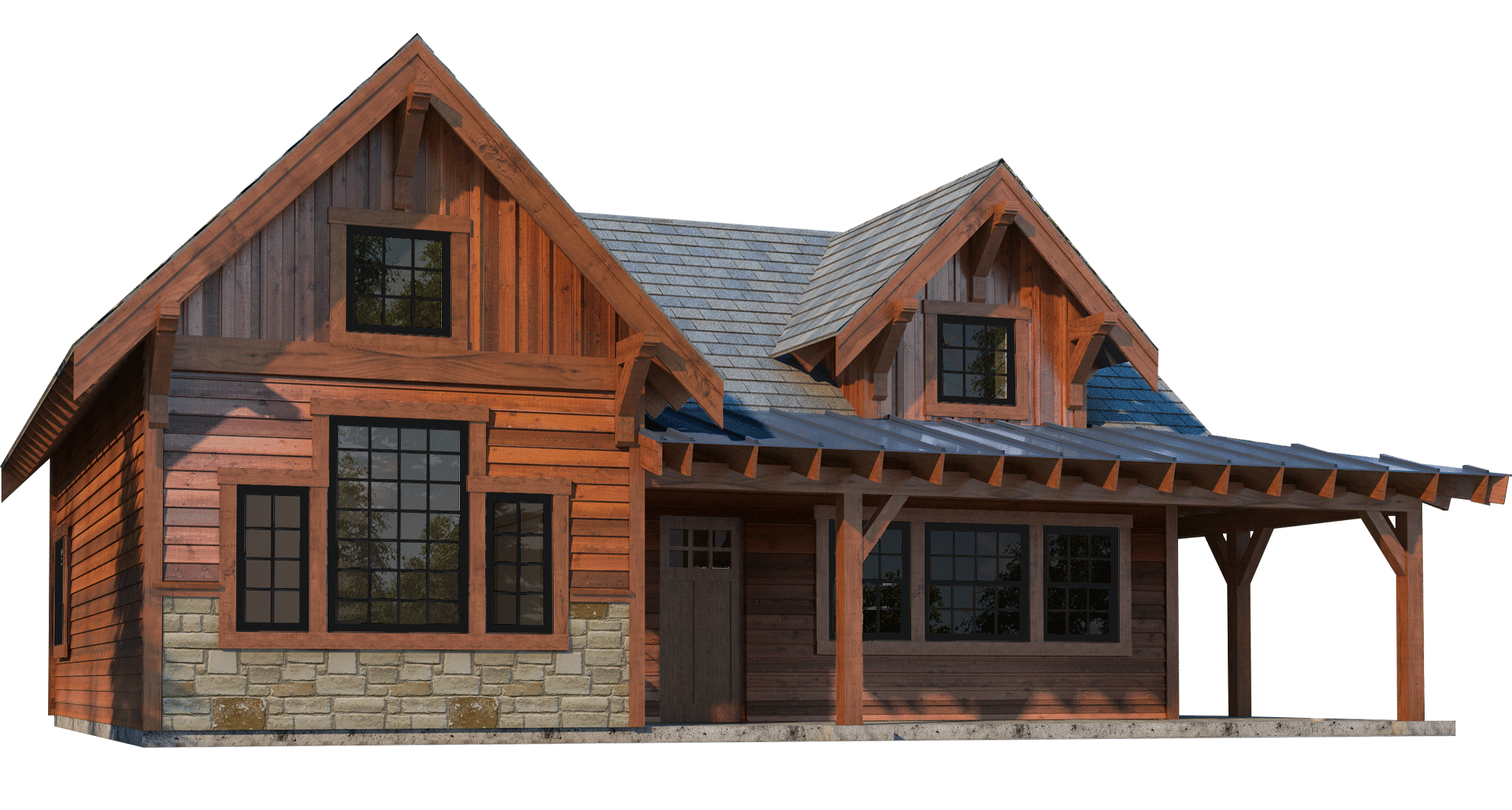 Rogue Cabin Kit 2 Bedroom Cabin Plan Dc Structures In 2020 Cabin Kits Cabin Cabin Plans