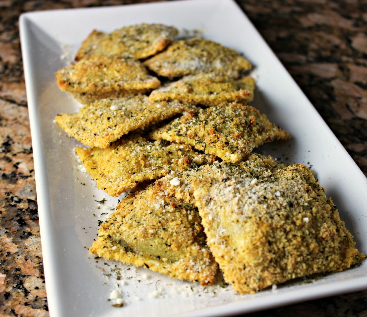 Ritz Fried Ravioli.  What's not to love?
