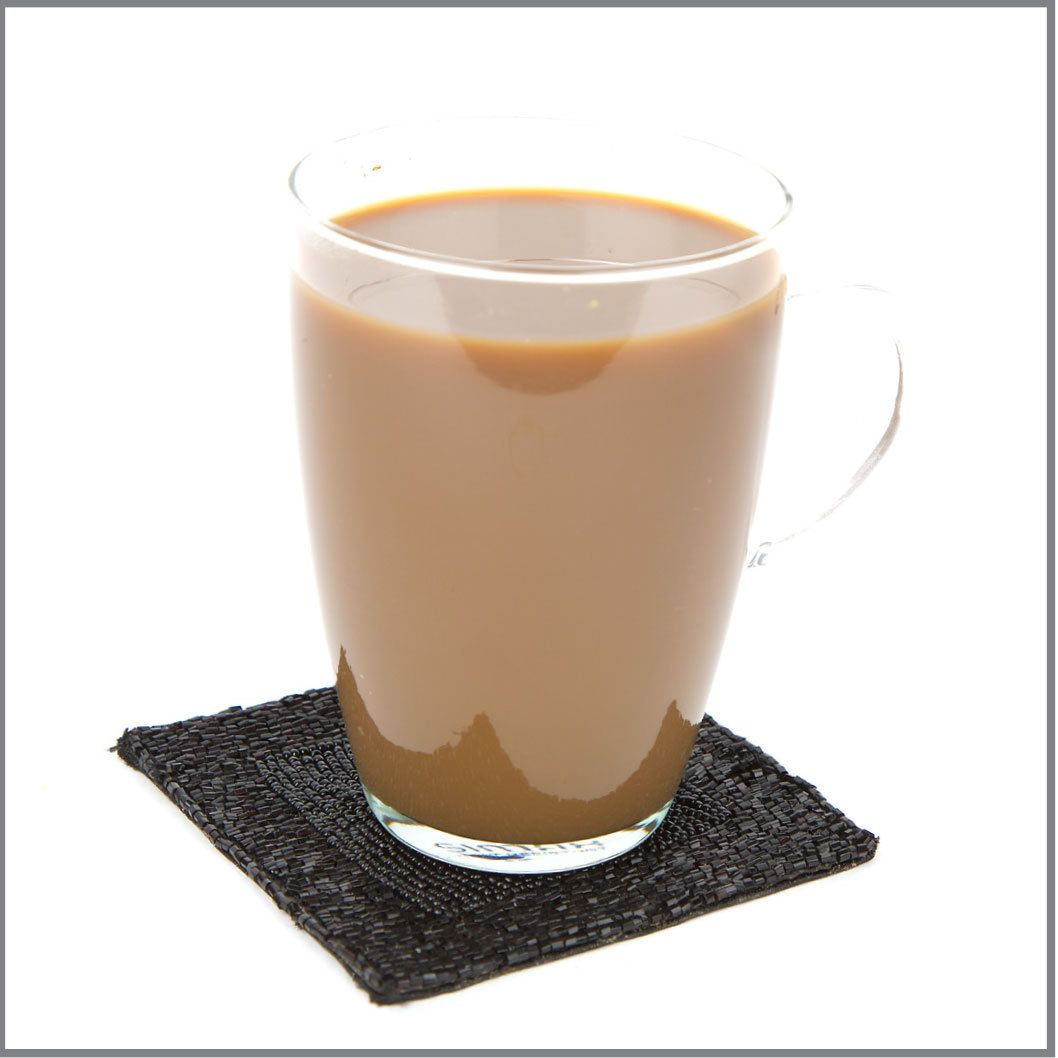 Instant Coffee With Milk And Sugar Visual Recipe With