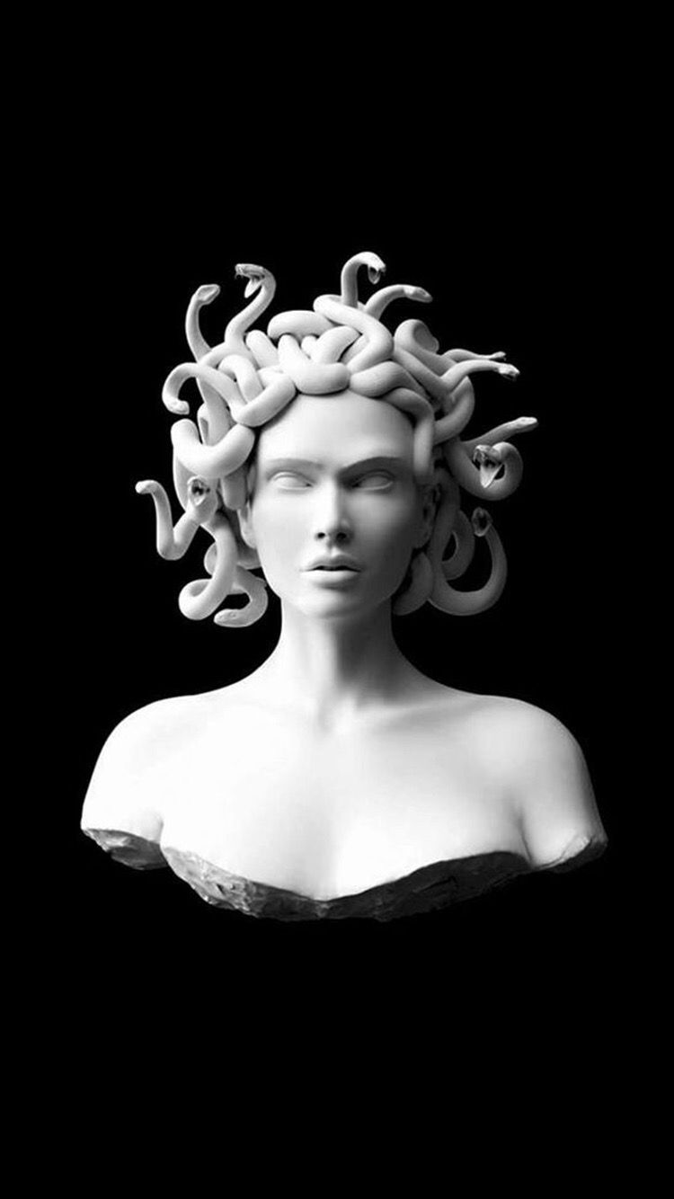 Medusa Wallpapers Arte Medusa Arte Grega Antiga Tatuagem De Estatua