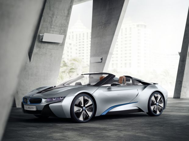 Bmw I8 Concept Spyder Photos Cool Looking Vehicles Bmw I8