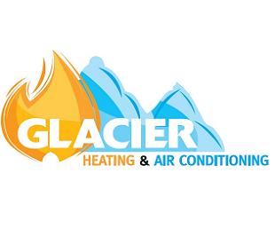 Refrigeration Company Logo Glacier Heating Air Conditioning