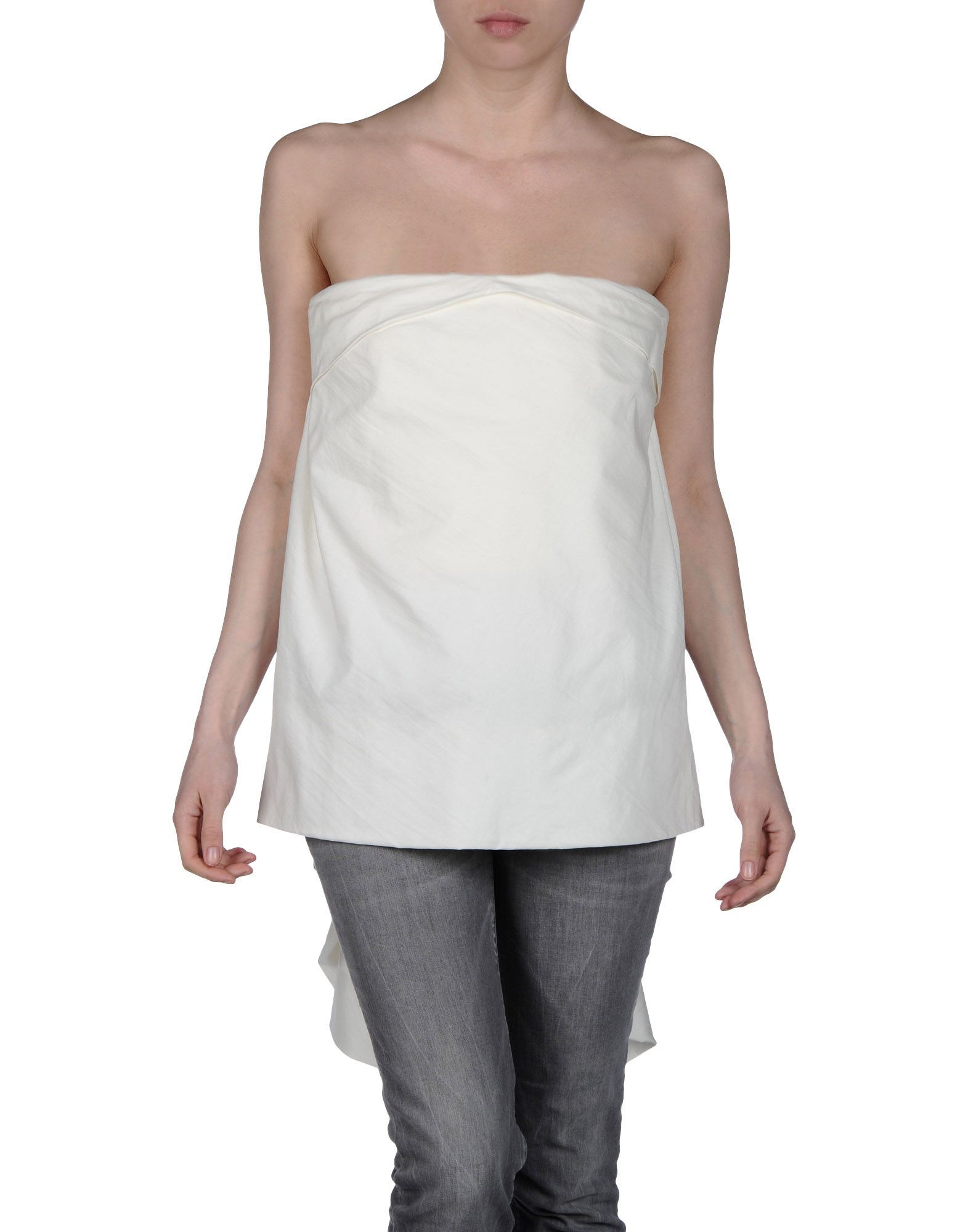 Discount Cheap Online Cheap Lowest Price TOPWEAR - Tube tops Rick Owens Cheap Real Finishline XfSsBnHfjP