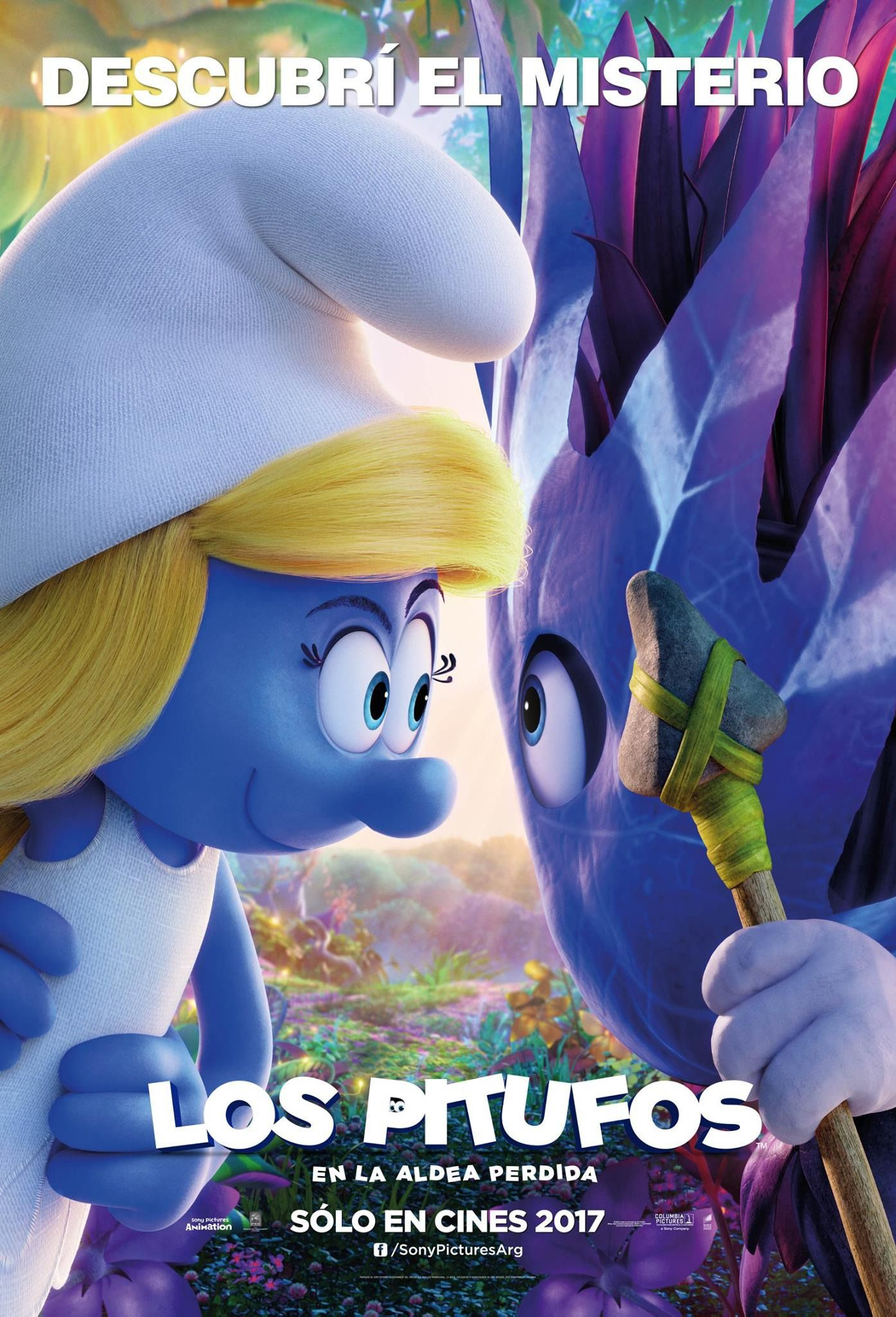 return to the main poster page for smurfs the lost village 3 of 6 carteles de cine. Black Bedroom Furniture Sets. Home Design Ideas