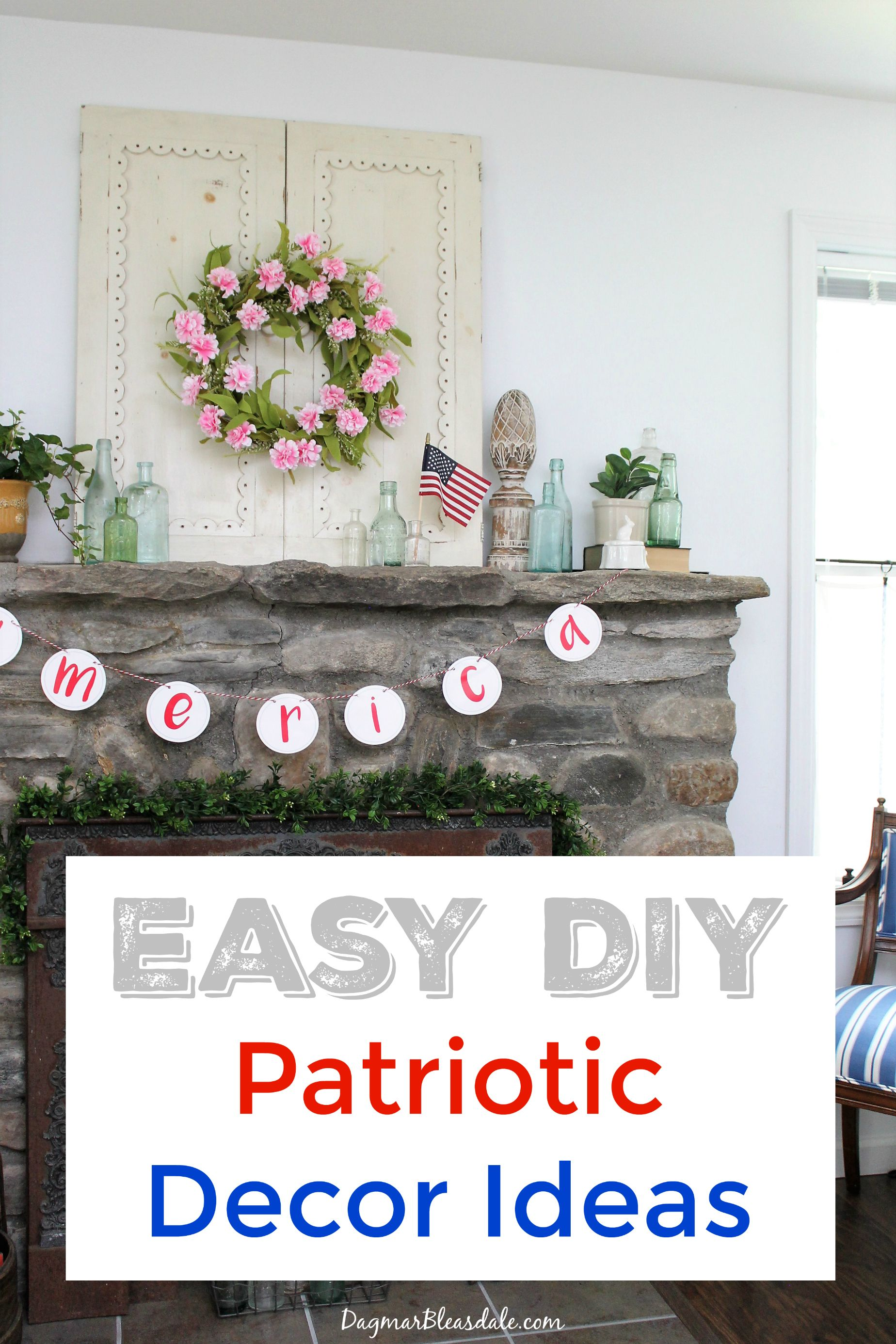 4th of July Decorations - Banners, Flags, and DIY Ideas | Diy ...