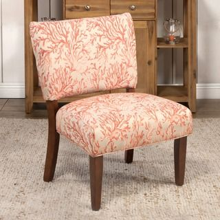 HomePop Floral Fabric Gigi Accent Chair | Overstock.com Shopping   The Best  Deals On